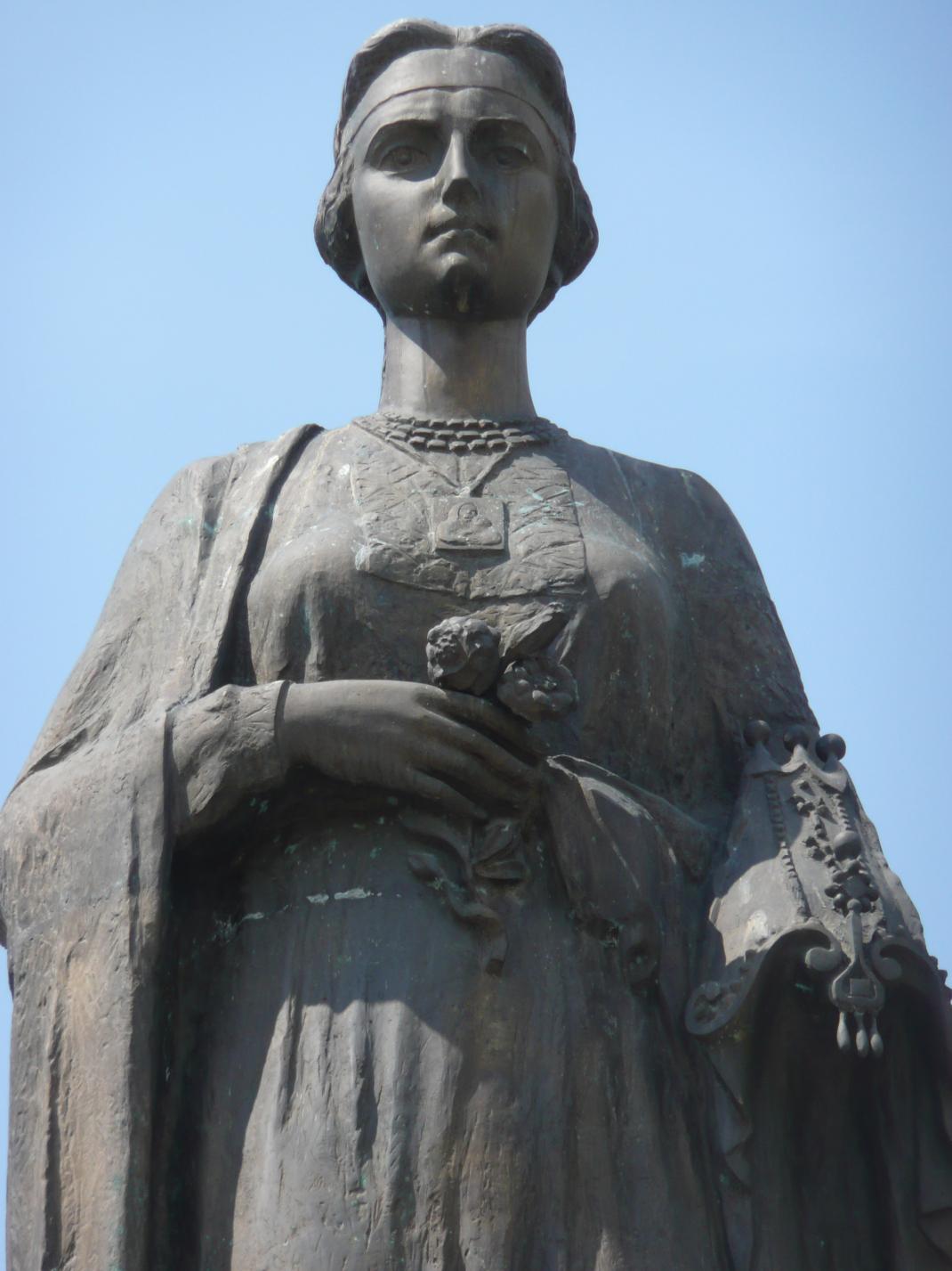 Άγαλμα της Χουρέμ στην Ουκρανία