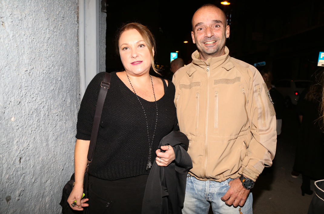 Η Ρένια Λουιζίδου με τον σύζυγό της Θάνο Κωνσταντάκη. Φωτογραφία: NDP