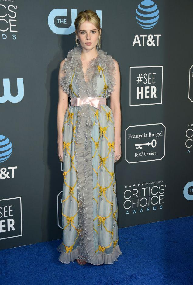 Και τι δεν είχε το φόρεμα της Λούσι Μπόιντον