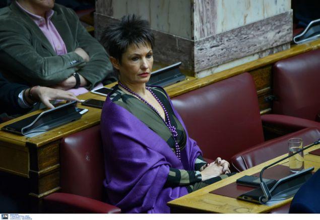 Η βουλευτής του ΣΥΡΙΖΑ Αννέτα Καββαδία