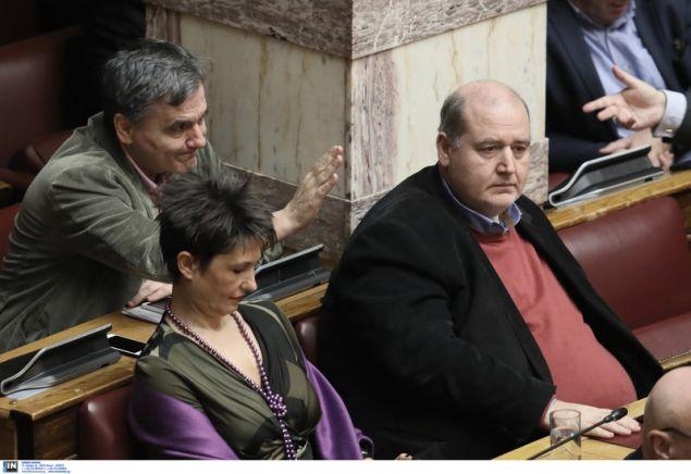 Τσακαλώτος, Καββαδία και Φίλης μαζί στα «ορεινά» της Βουλής