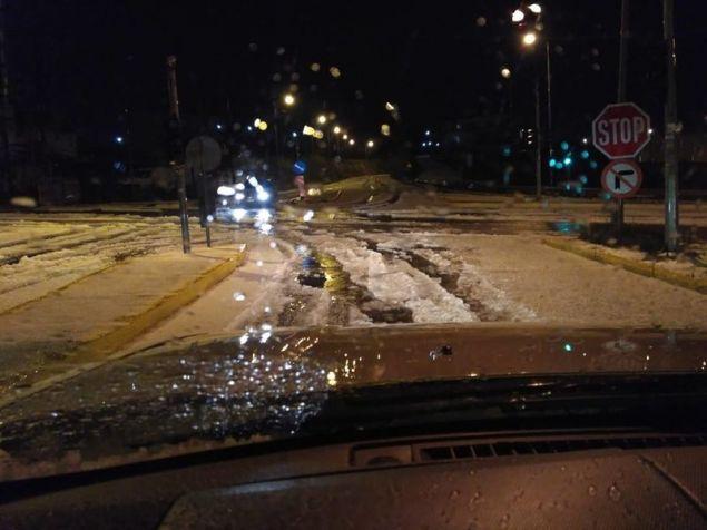Σε άσχημη κατάσταση σημεία του οδικού δικτύου στην Κρήτη / Φωτογραφία: cretapost