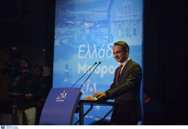 «Εχει και η γελοιότητα τα όριά της» είπε από την Κρήτη για τον πρωθυπουργό ο πρόεδρος της ΝΔ-Φωτογραφία: Intimenews/ΒΑΡΑΚΛΑΣ ΜΙΧΑΛΗΣ
