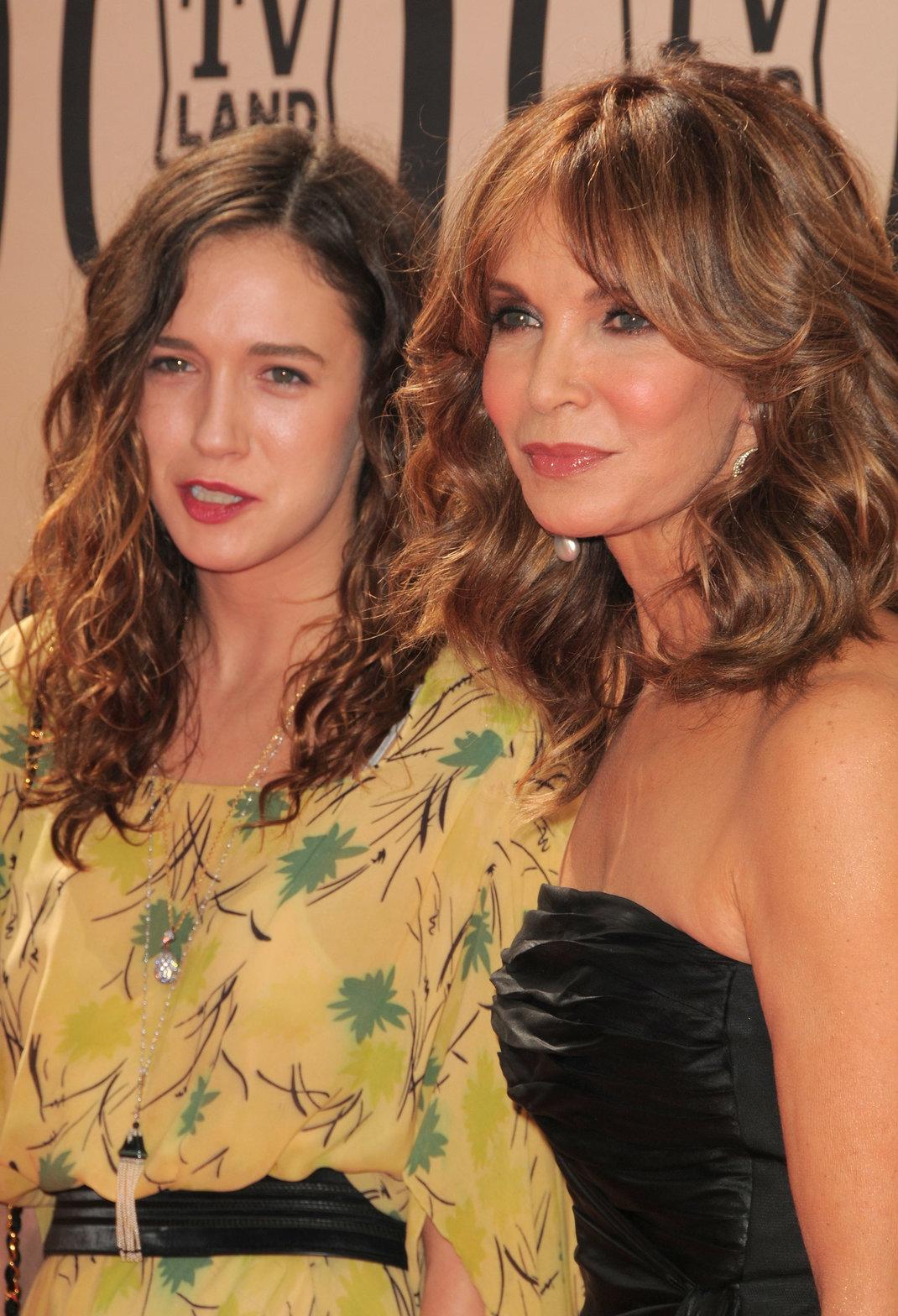 H Τζάκλιν Σμιθ με την κόρη της,Φωτογραφία: ΑP images
