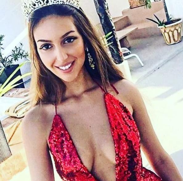 Η Οξάνα Βοεβοντίνα είχε στεφθεί «Μις Μόσχα» το 2015 (Φωτογραφία: Instagram)