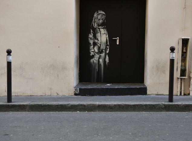 Αυτό είναι το έργο του Banksy που έκλεψαν