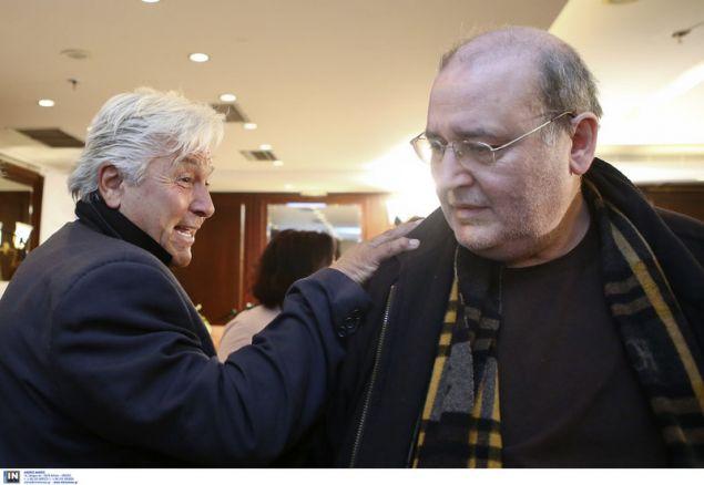 Ο Θανάσης Παπαχριστόπουλος και ο Νίκος Φίλης