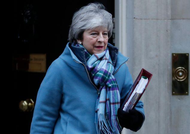 Η Βρετανίδα πρωθυπουργός, Τερέζα Μέι