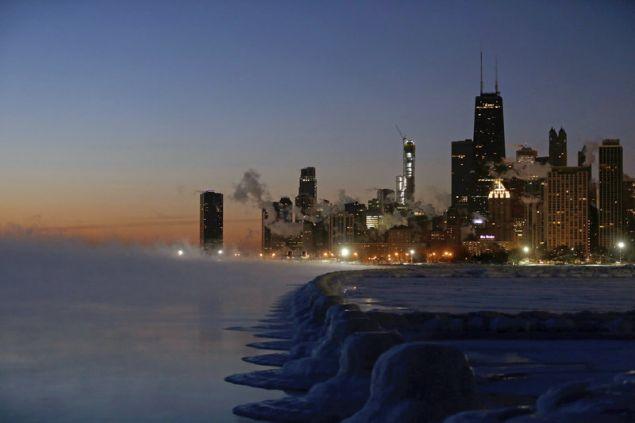 Η θερμοκρασία έφτασε τους -49 βαθμούς Κελσίου/Φωτογραφία: AP