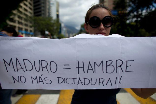 Οι κάτοικοι της Βενεζουέλας θα διαμαρτυρηθούν κατά του Νικολά Μαδούρο