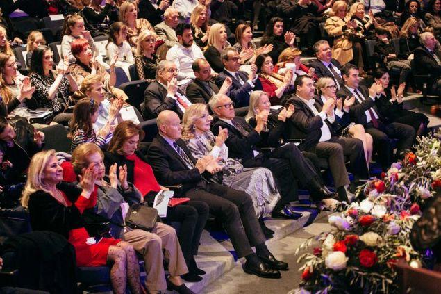Η συναυλία ενθουσίασε το κοινό