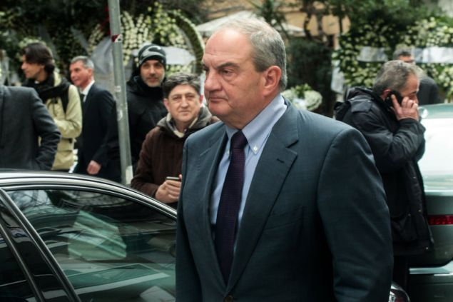 Ο πρώην πρωθυπουργός Κώστας Καραμανλής.