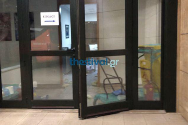 Ληστεία σε κλινική στο Πανόραμα Θεσσαλονίκης