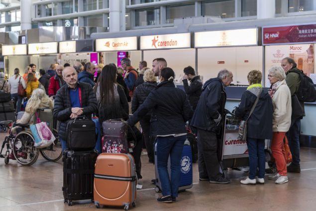 Εξαιτίας της απεργίας ο εναέριος χώρος του Βελγίου θα παραμείνει κλειστός με αποτέλεσμα να μην πραγματοποιηθεί καμία πτήση από και προς το Βέλγιο