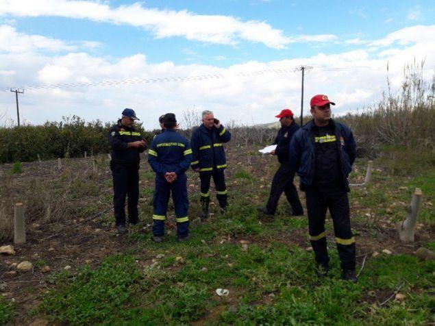 Κλιμάκιο Πυροσβεστικής και ΕΜΑΚ στο σημείο / Φωτογραφία: Flashnews