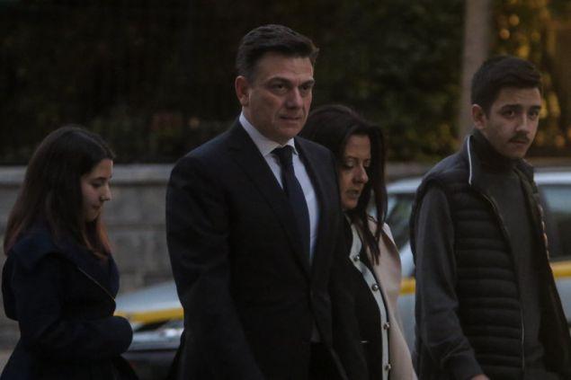 Ο νέος υφυπουργός Μεταφορών Θάνος Μωραΐτης --Φωτογραφία: EUROKINISSI/ ΧΡΗΣΤΟΣ ΜΠΟΝΗΣ