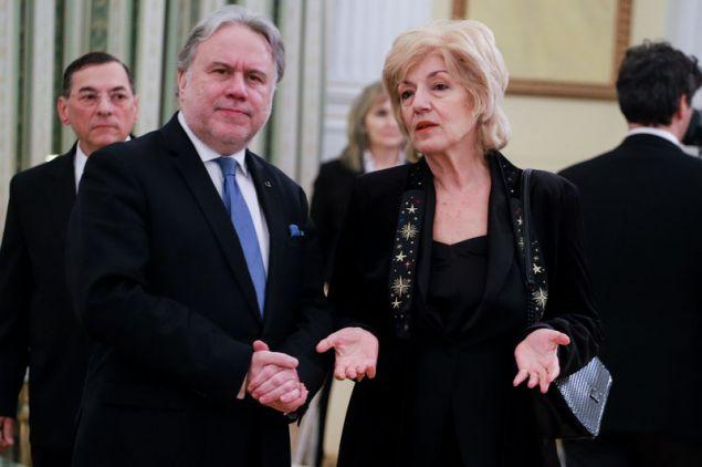 Γιώργος Κατρούγκαλος και Σία Αναγνωστοπούλου - (EUROKINISSI/ ΓΙΩΡΓΟΣ ΚΟΝΤΑΡΙΝΗΣ)