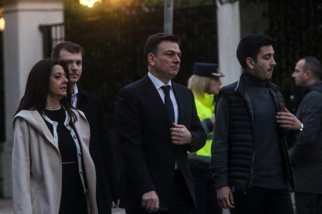 Ο Θάνος Μωραΐτης --Φωτογραφία: EUROKINISSI/ ΧΡΗΣΤΟΣ ΜΠΟΝΗΣ