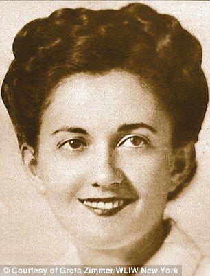 Η  Γκρέτα Ζίμερ Φρίντμαν όταν ήταν νοσοκόμα.