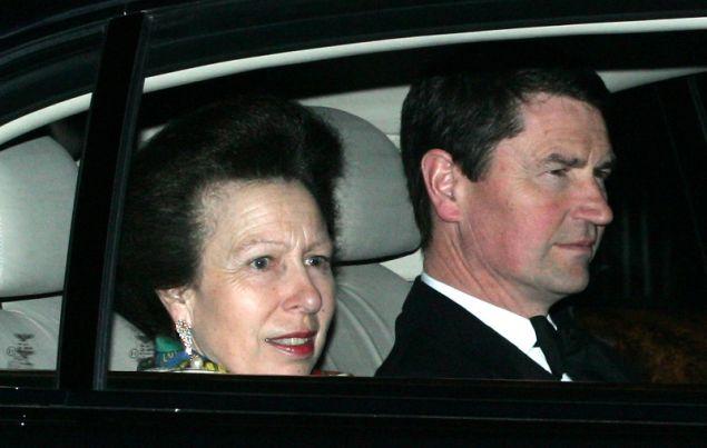 Η πριγκίπισσα Άννα με τον σύζυγό της Τίμοθι Λόρενς