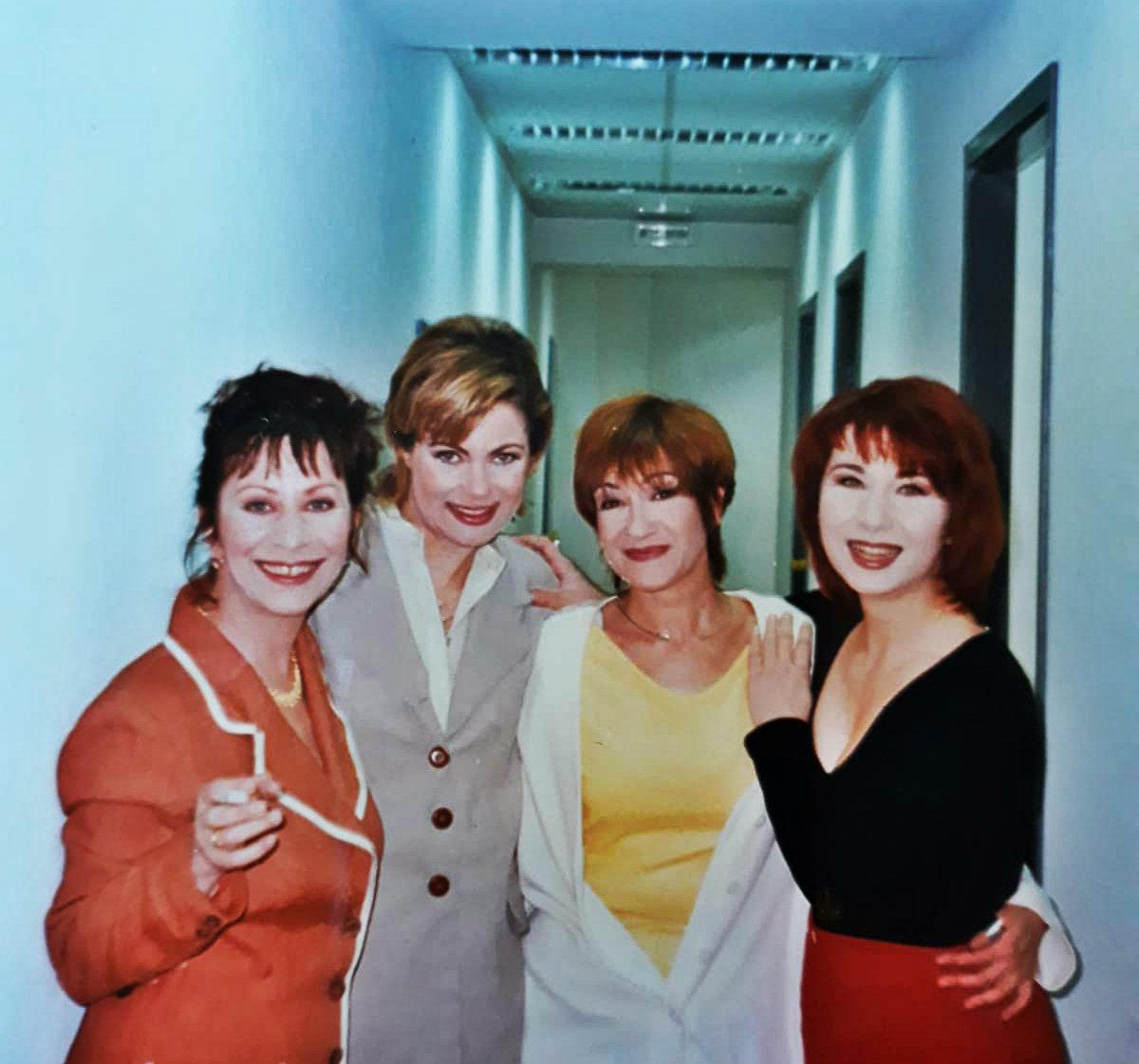 1997, Στιγμιότυπο από γυρίσματα της σειράς