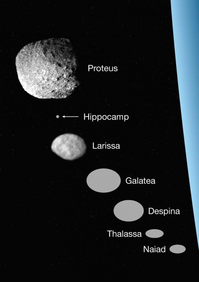 Τα φεγγάρια του Πλούτωνα (Εικόνα: ΑΠΕ-ΜΠΕ/Mark Showalter/SETI Institute)