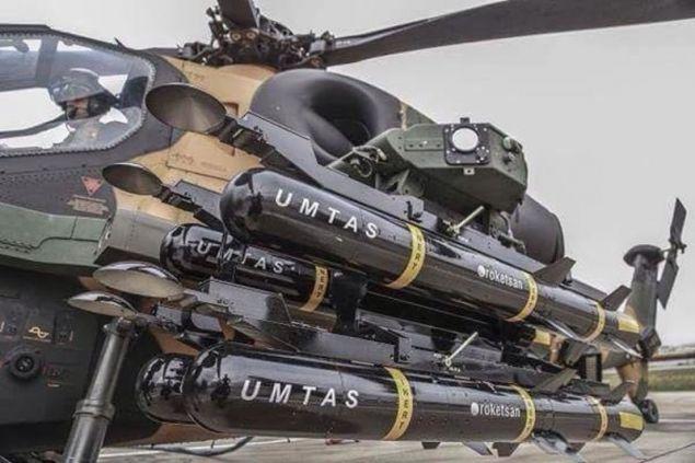 «Πρεμιέρα» για τους αντιαρματικούς πυραύλους Umtas / Φωτογραφία: Facebook
