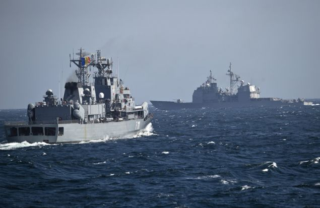 Στιγμιότυπο από πρόσφατη άσκηση του Πολεμικού Ναυτικού της Τουρκίας / Φωτογραφία: AP Images