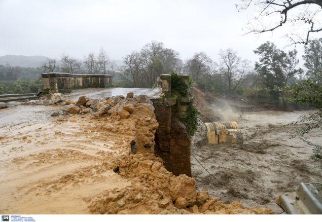 Μεγάλες καταστροφές στην Κρήτη