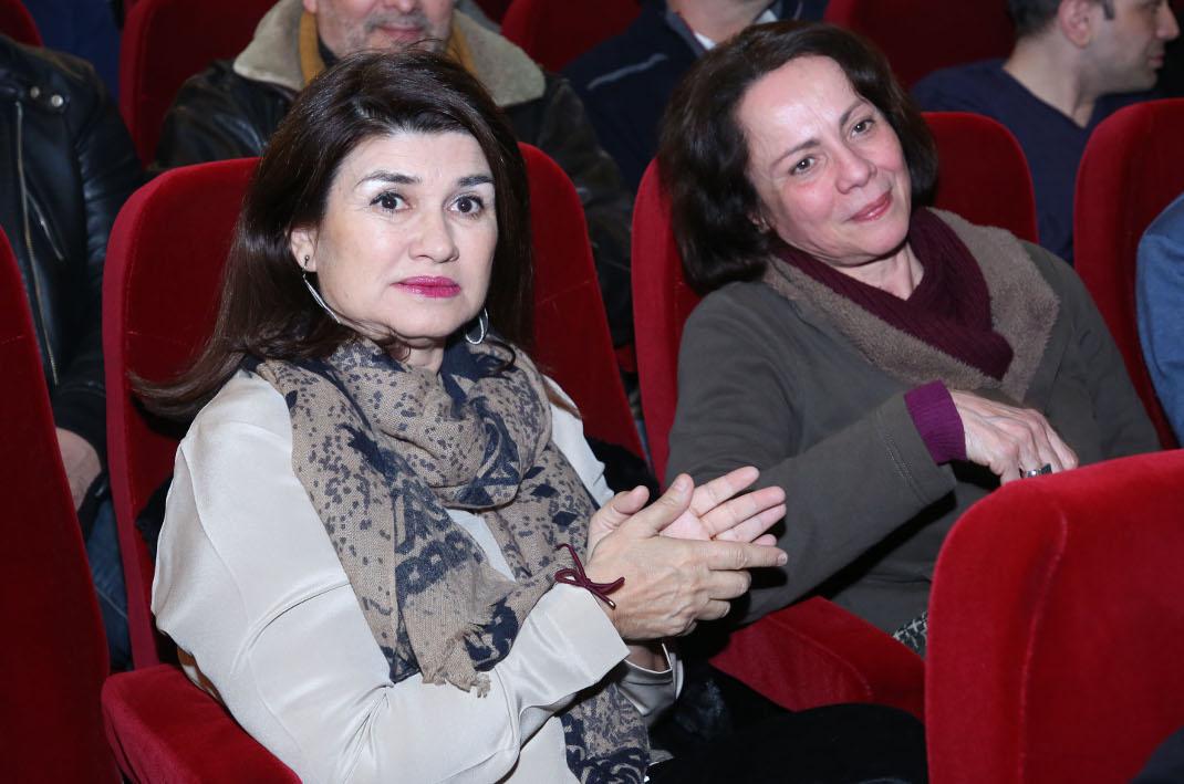 Άννα Κουρή-Αλεξάνδρα Σακελλαροπούλου, Φωτογραφία: NDP photo agency
