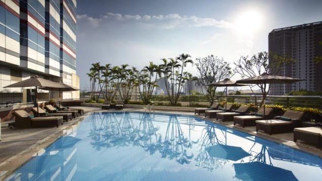 Οι εξωτερικοί χώροι του ξενοδοχείου / Φωτογραφία: Melia Hotel Hanoi