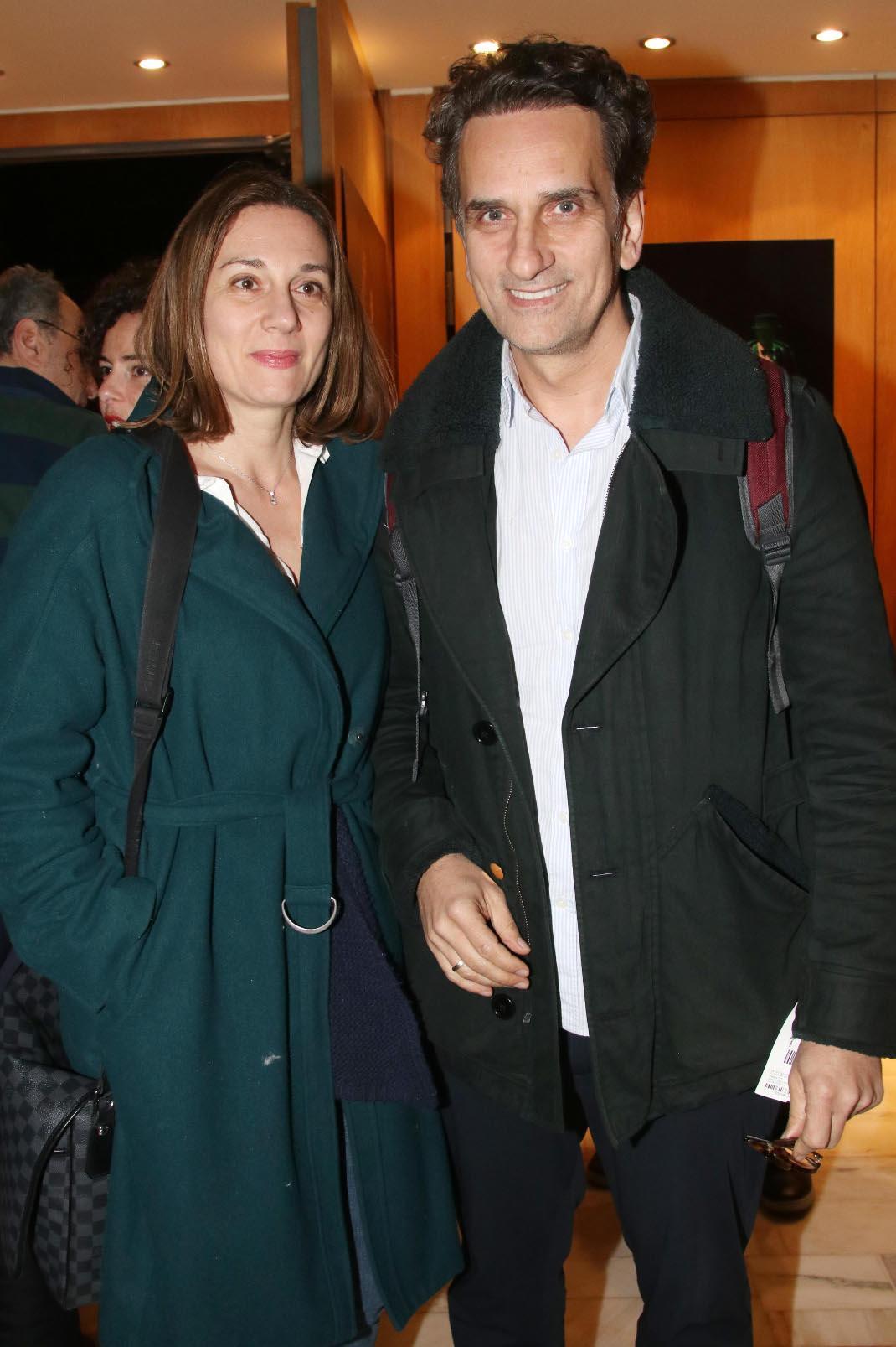 Έλενα Καρακούλη-Νίκος Ψαρράς, Φωτογραφία: NDP Photo agency