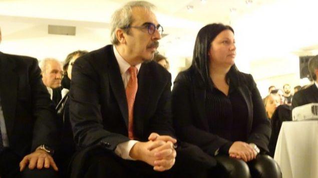 Ο Βαγγέλης Περρής στην εκδήλωση για την παρουσίαση των 60 πρώτων υποψηφίων του συνδυασμού «Η Σύρος που Αξίζουμε»