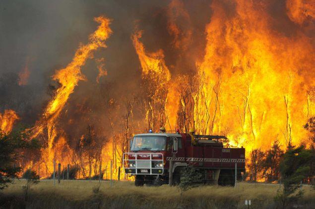 Οι δασικές πυρκαγιές είναι ένα συχνό φαινόμενο