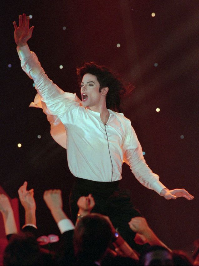 O Μάικλ Τζάκσον (Φωτο: AP/Laurent Rebours)