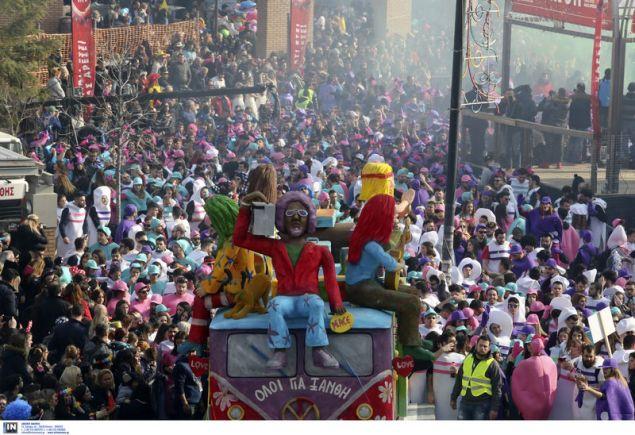 Μόλις δυο εικοσιτετράωρα απομένουν για τη μεγάλη καρναβαλική παρέλαση στην πόλη της Ξάνθης