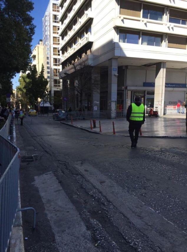 Κλειστοί οι δρόμοι γύρω από την πλατεία Συντάγματος
