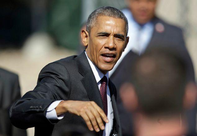 Ο Μπάρακ Ομπάμα (Φωτογραφία: AP)