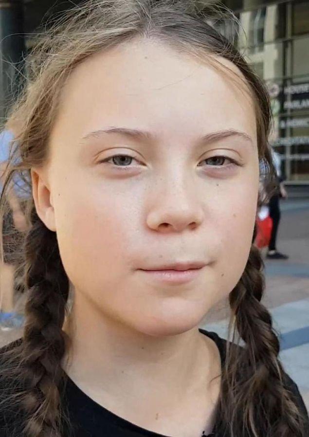 Η Σουηδέζα έφηβη Γκρέτα Τούνμπεργκ, από την οποία ξεκίνησε «η σχολική απεργία για το κλίμα», προτάθηκε για το Νόμπελ Ειρήνης 2019, φωτογραφία wikipedia