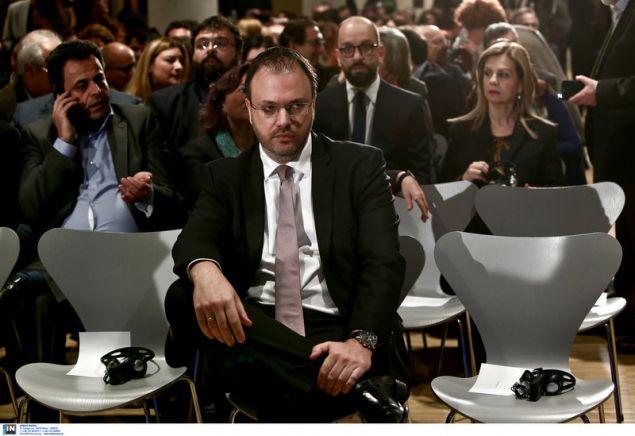 Ο πρόεδρος της ΔΗΜΑΡ στην εκδήλωση στο ΚΠΙΣΝ με ομιλητή τον Εβο Μοράλες -Φωτογραφία: Intimenews/ΤΖΑΜΑΡΟΣ ΠΑΝΑΓΙΩΤΗΣ