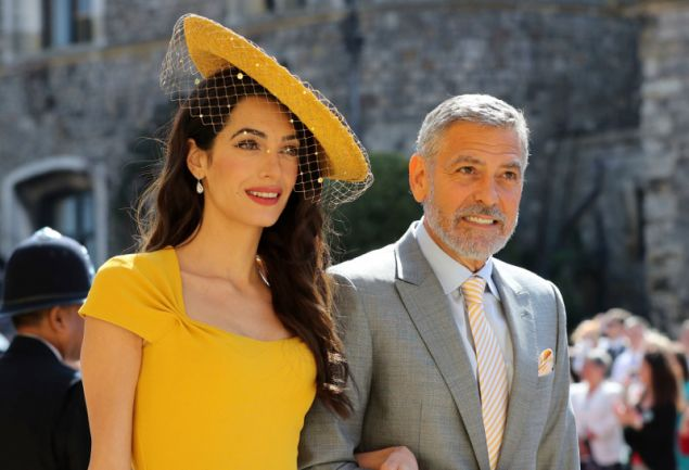 Το διάσημο ζευγάρι είχε παραβρεθεί στον βασιλικό γάμο τον περασμένο Μάιο