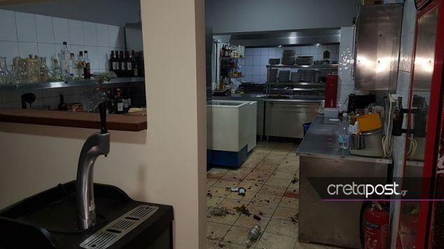 Ζημιές στην κουζίνα καταστήματος