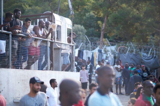 Καταυλισμός προσφύγων στη Σάμο