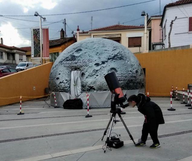 Το πρωτο ψηφιακό πλανητάριο πάει στην Κέρκυρα