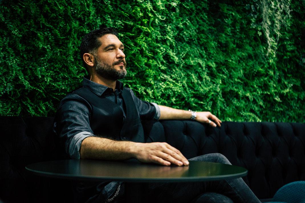 Ο Πάνος Ιωαννίδης. Φωτογραφία: Bovary/Πάνος Μάλλιαρης