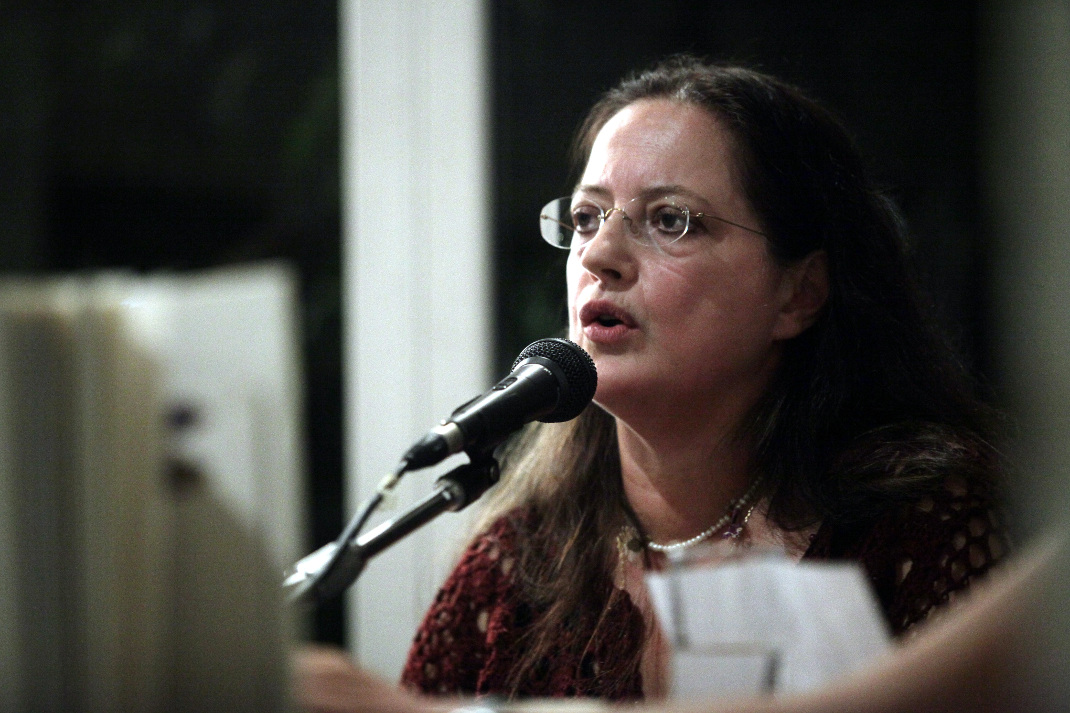 H Ιουλίτα Ηλιοπούλου. Φωτογραφία: Eurokinissi-ΠΑΝΑΓΟΠΟΥΛΟΣ ΓΙΑΝΝΗΣ