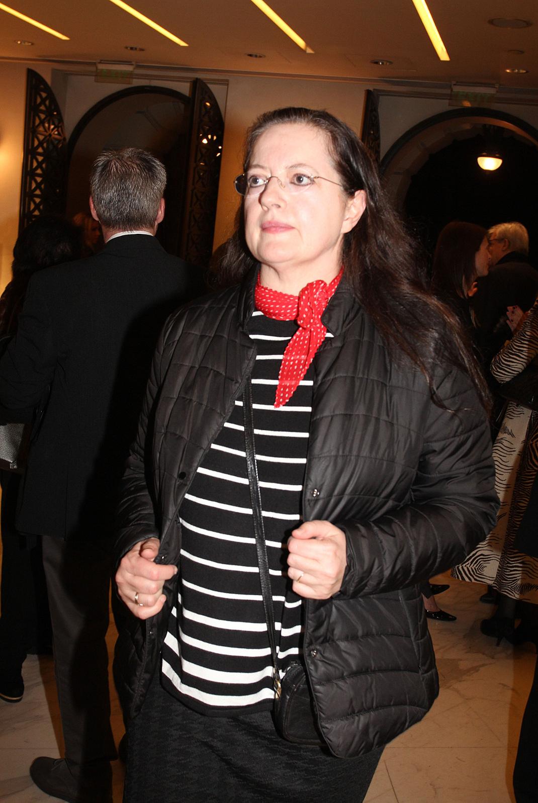 H Ιουλίτα Ηλιοπούλου. Φωτογραφία: NDP
