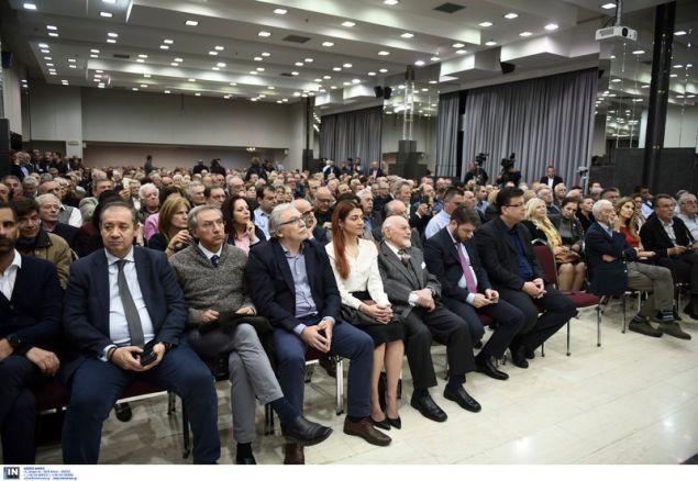 Πλήθος κόσμου στην εκδήλωση με ομιλητή τον Κ. Σημίτη -Φωτογραφία: Intimenews/ΠΑΠΑΝΙΚΟΣ ΓΙΑΝΝΗΣ