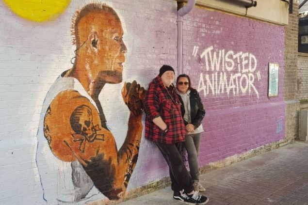Η τοιχογραφία του καλλιτέχνη Τζον Μπούλεϊ