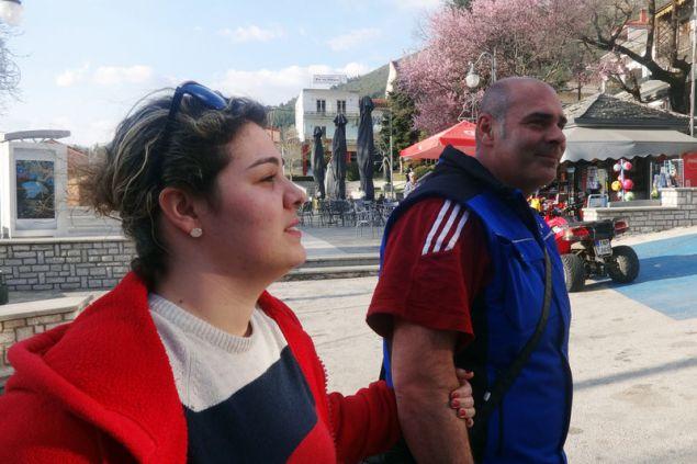 Η Ναριμάν και ο σύζυγός της, Δημήτρης
